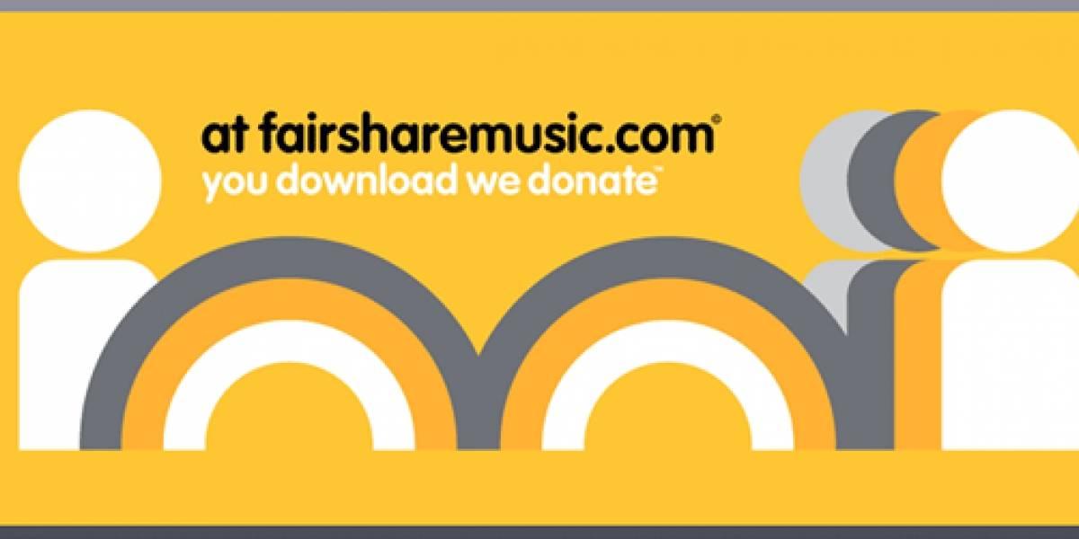 Fairsharemusic: una tienda de música con fines caritativos