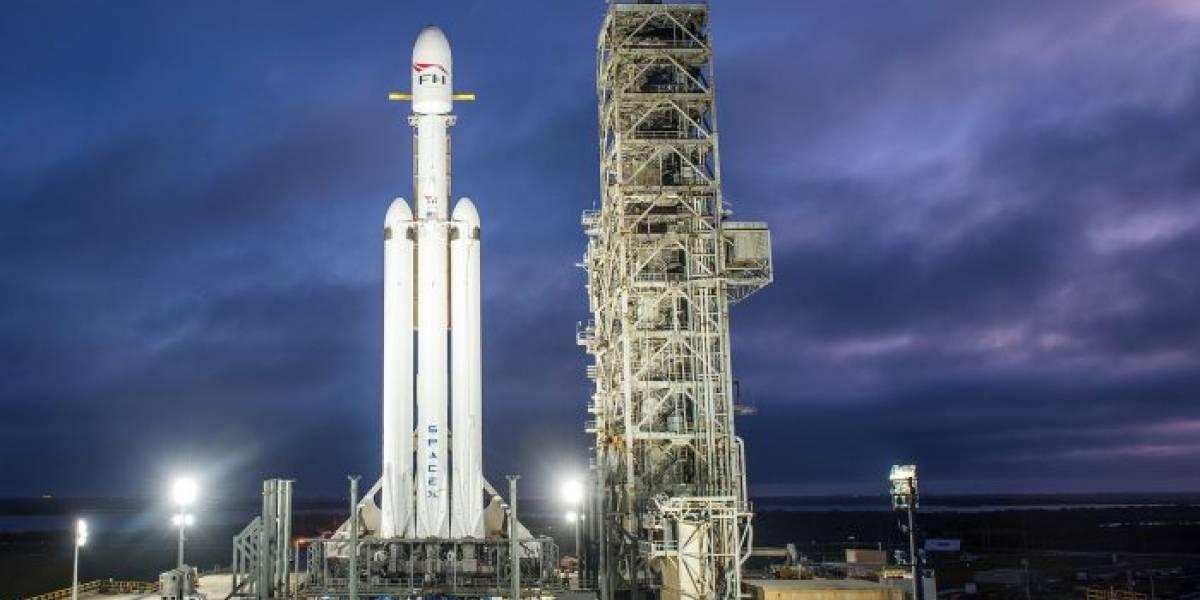 Space X tuvo que retrasar el lanzamiento de Falcon Heavy por falta de apoyo