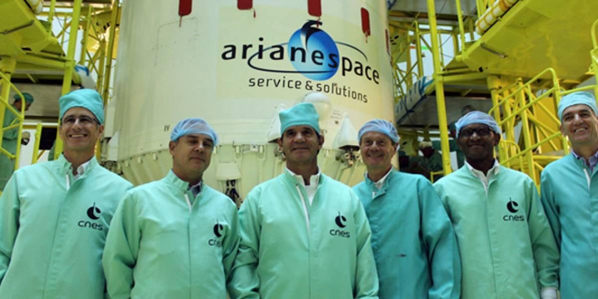 Este viernes se lanzará al espacio el tercer satélite chileno