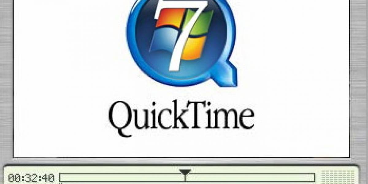 Reproductor de medios en Windows 7 tendrá soporte nativo para QuickTime