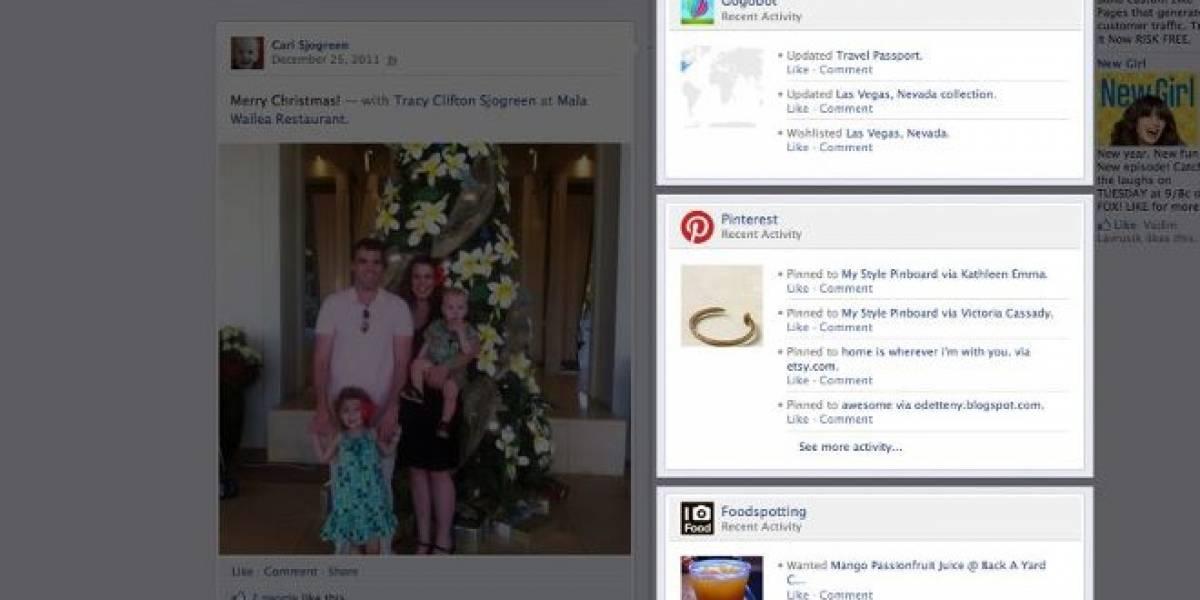 Facebook lanza 60 nuevas aplicaciones para Timeline