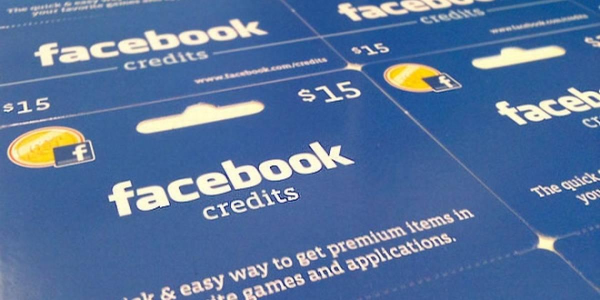 Facebook regala créditos a quienes los compren por primera vez en la red social