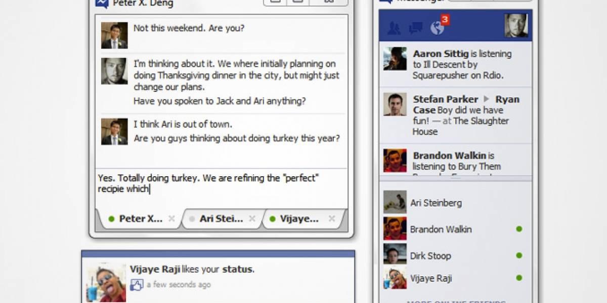 """Facebook relanza """"Messenger"""" para chatear en Windows"""