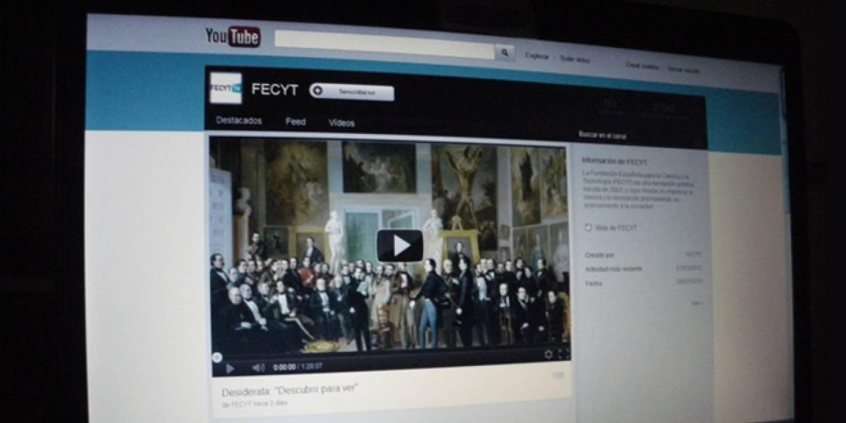 España: FECYT apuesta por las nuevas tecnologías y se muda al YouTube