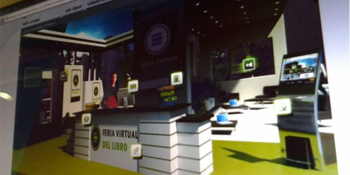 España prepara la I Feria Virtual del Libro con tecnología 3D