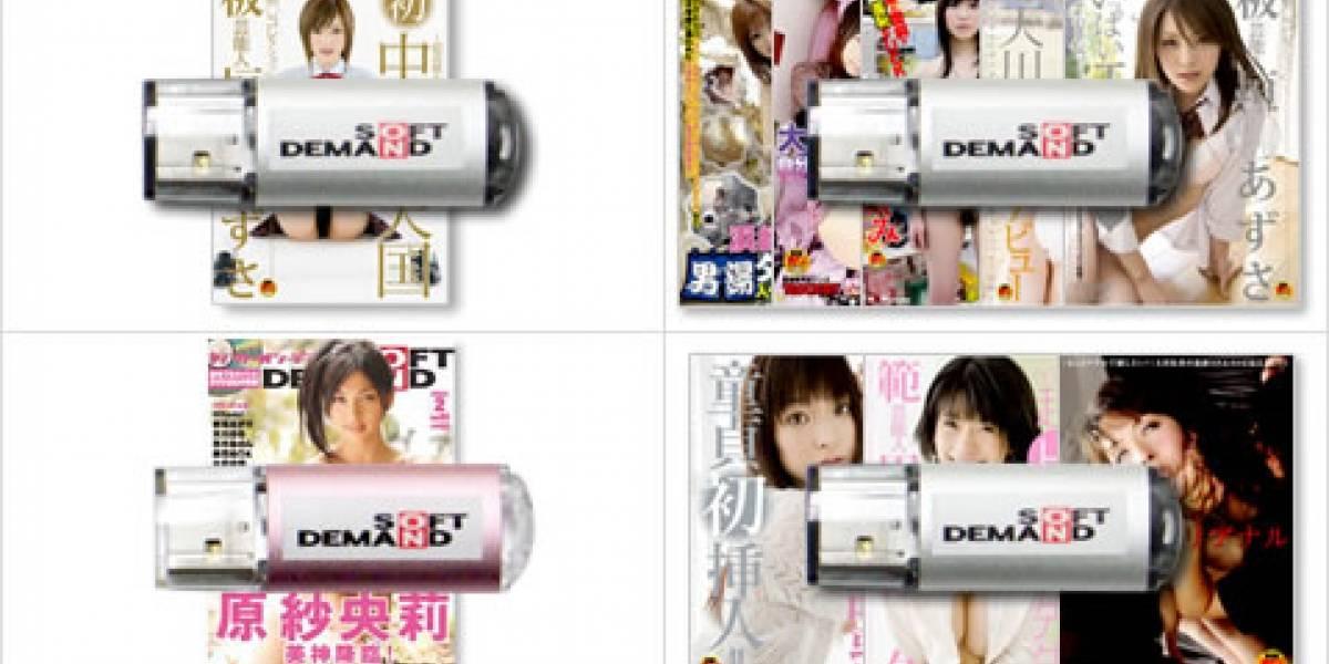 Impresentable: Compañía japonesa vende porno en pendrives