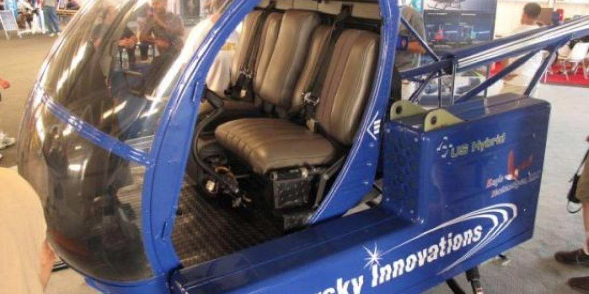 Helicóptero 100% eléctrico