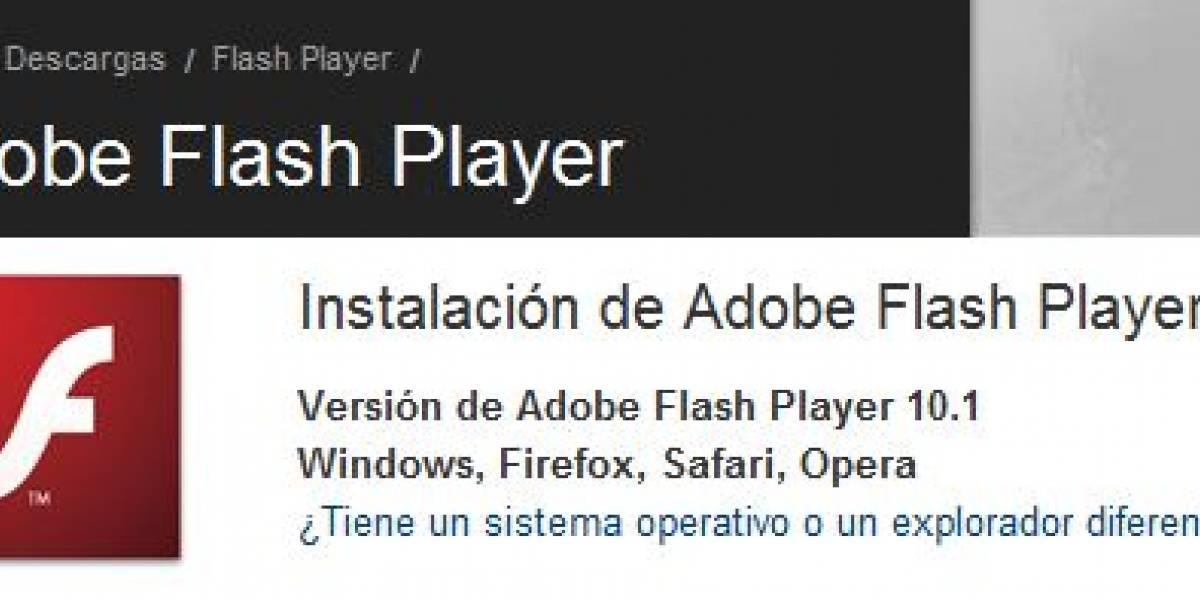 adobe flash player 10.1.0