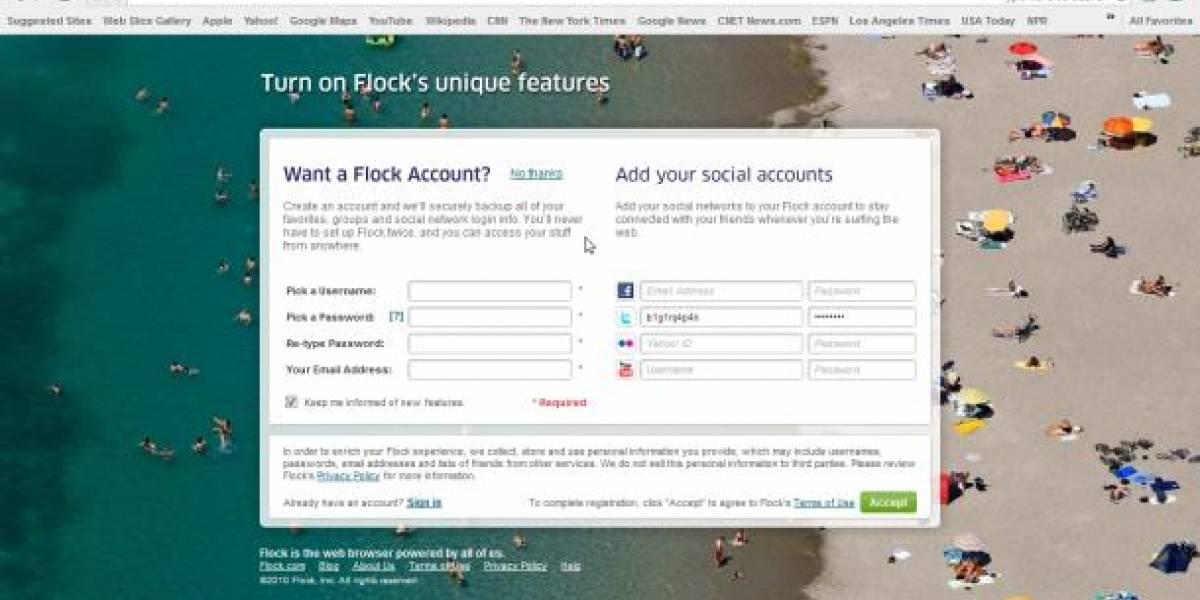 El nuevo Flock cambió Firefox por Chrome
