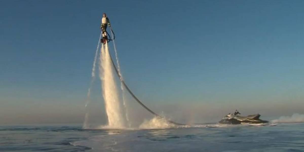 Flyboard: Un Jetpack con el que podrás volar como un pájaro y nadar como un delfín