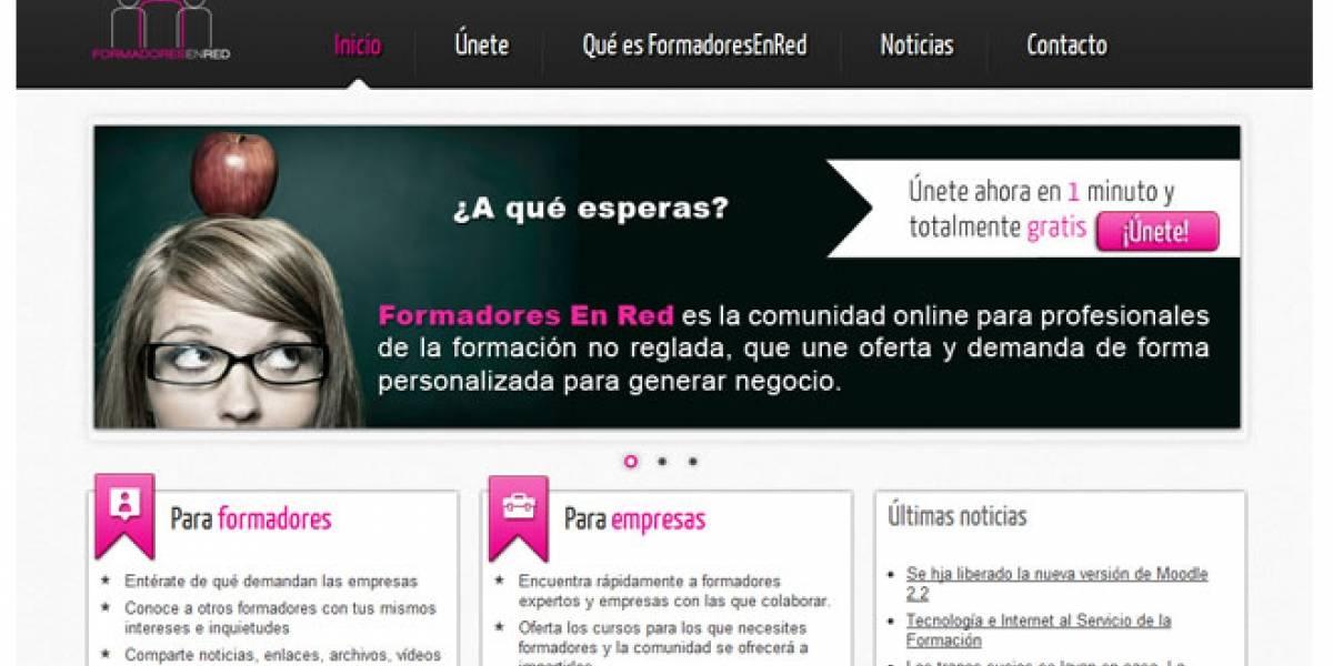 Formadores en Red: La comunidad virtual española de la formación no reglada