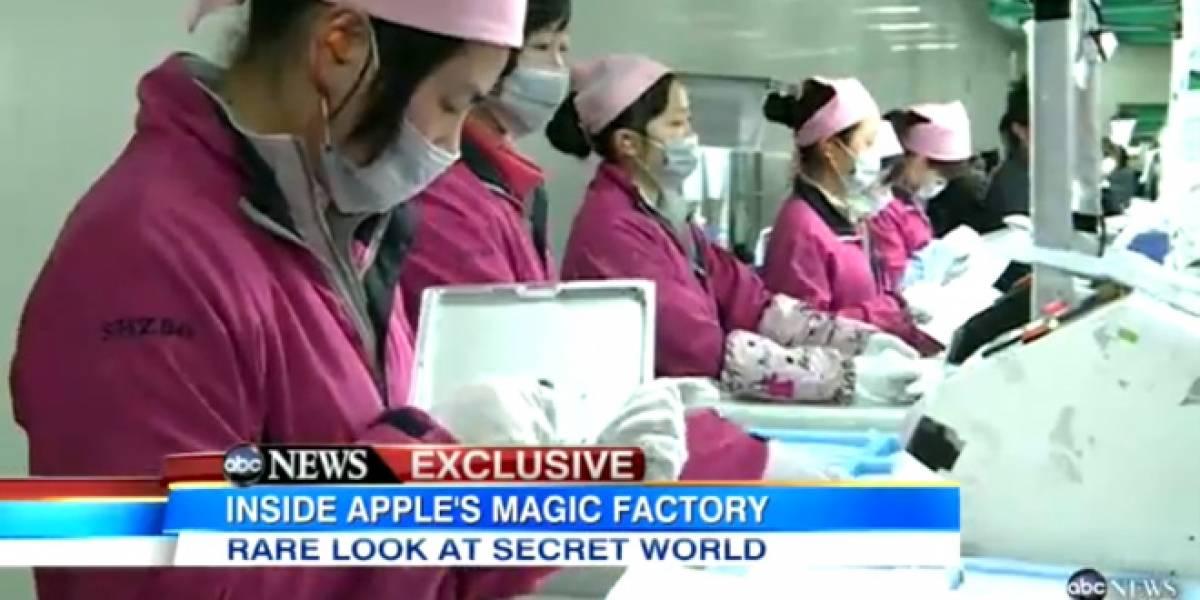 Foxconn por dentro, según la cadena de televisión ABC