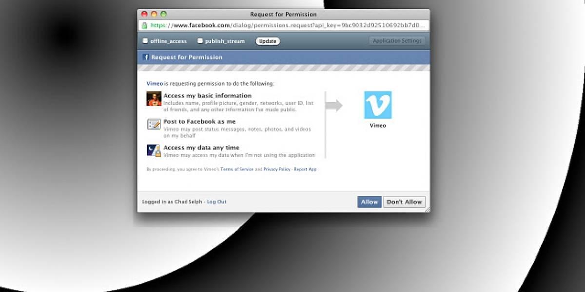 fPrivacy gestiona los permisos que das a las aplicaciones en Facebook
