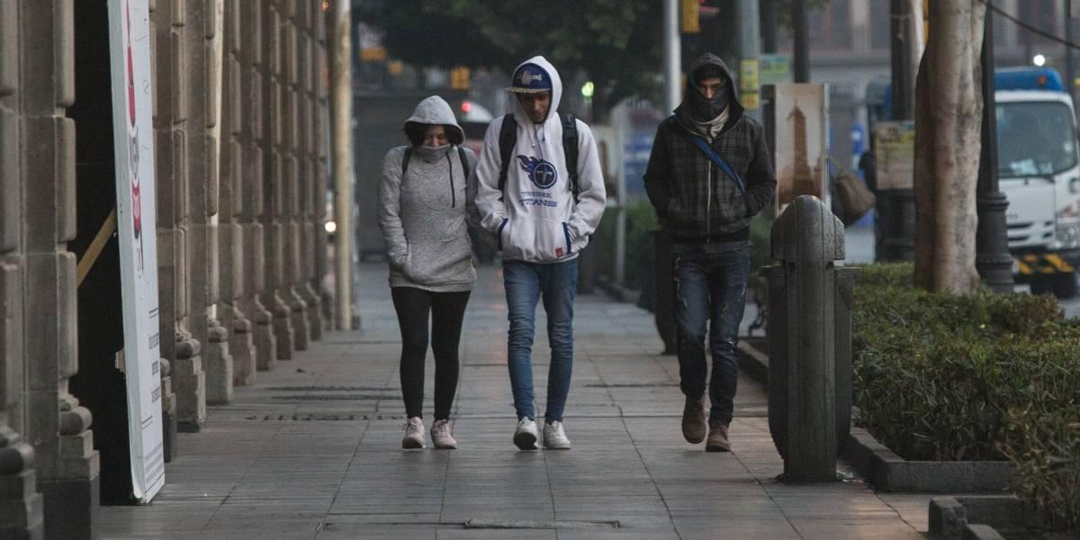 A partir de este miércoles se esperan lluvias constantes y frío en gran parte del país