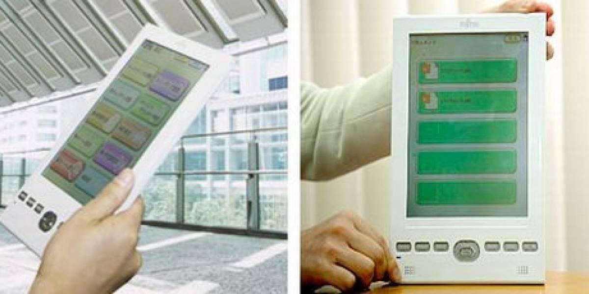Fujitsu FLEPia: Casi todo lo que el Kindle 2 debió ser