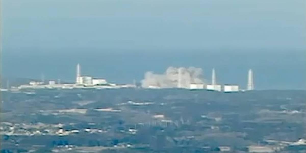 Japón: Impactante explosión en planta nuclear de Fukushima (Video)