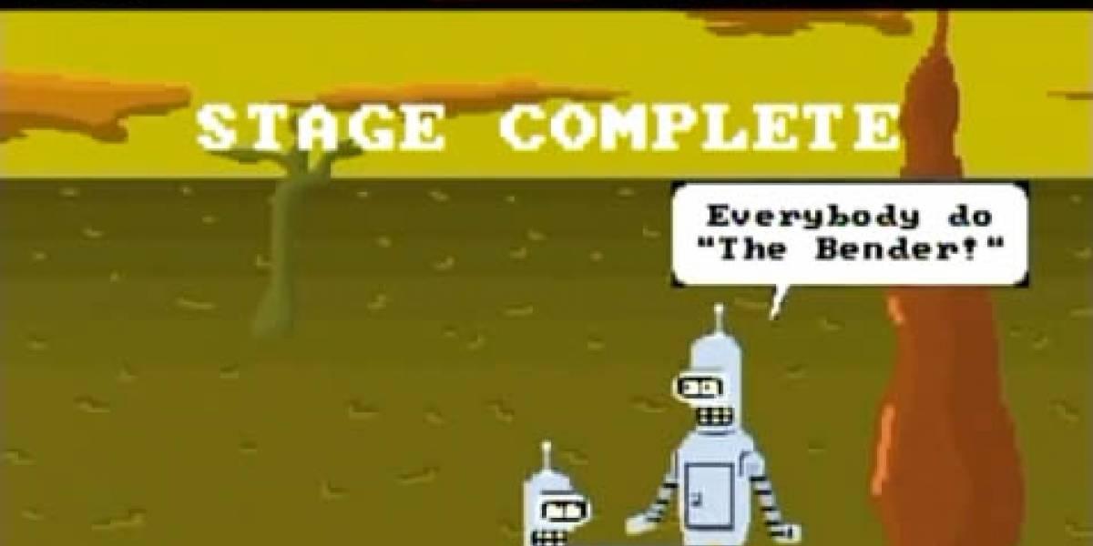 Video: Futurama debió existir antes, para que este videojuego de NES fuera realidad