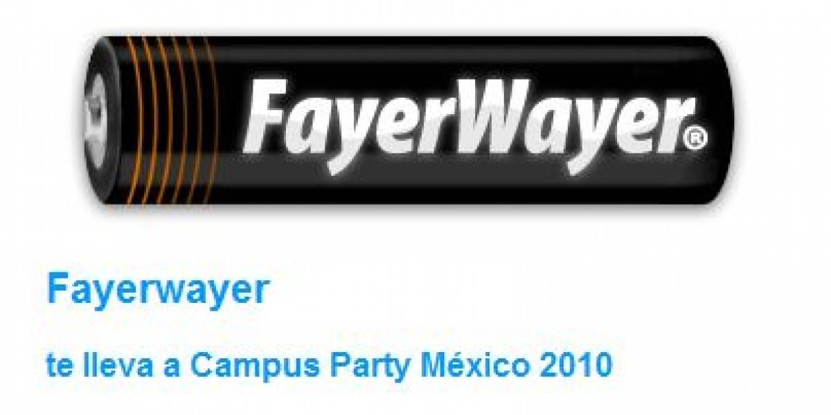 Último día para ganar una entrada Campus Party México con FayerWayer