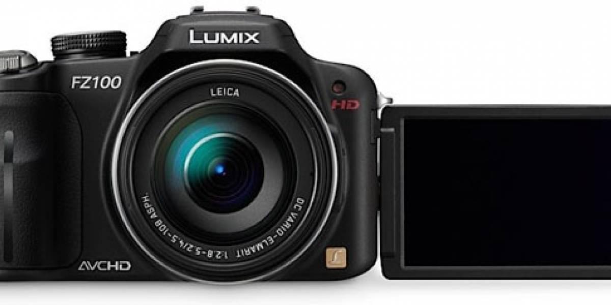 Panasonic presenta sus cámaras digitales Lumix FZ100, FZ40, FX700, LX5 y TS10