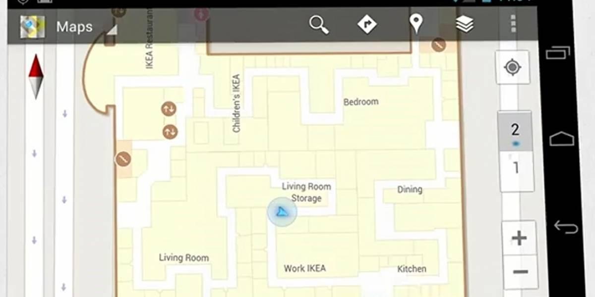 Google Maps ahora detalla el interior de los edificios