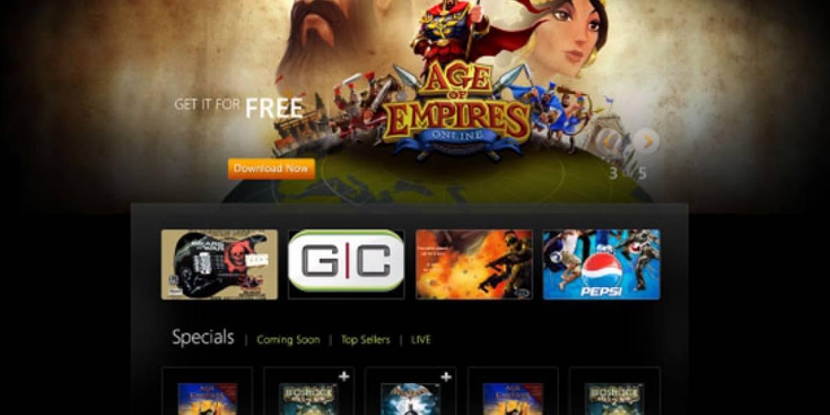 Microsoft rediseña su tienda online de juegos para Windows