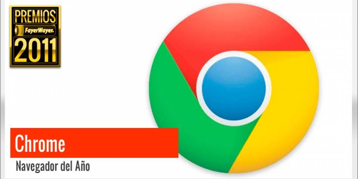 Pila de Oro a Mejor Navegador 2011: Google Chrome