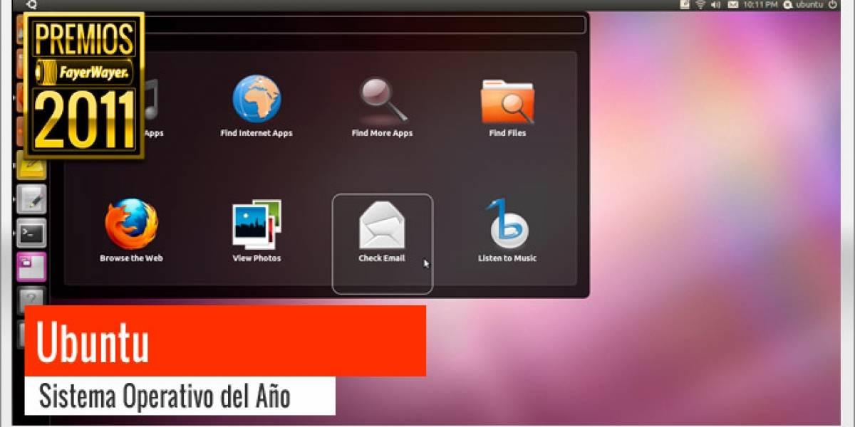 Pila de Oro a Mejor Sistema Operativo 2011: Ubuntu