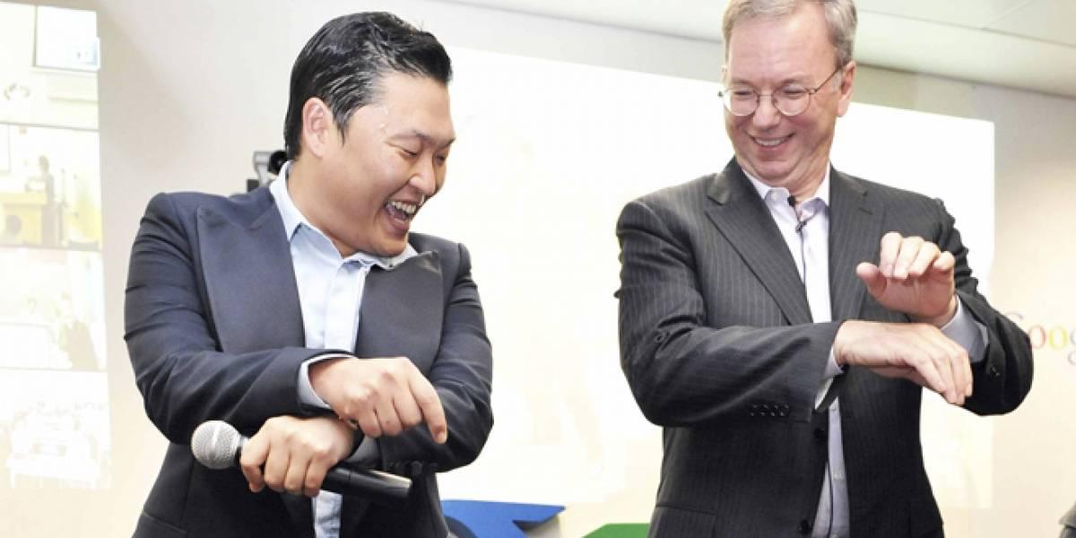 Eric Schmidt de Google va a Corea y baila el Gangnam Style