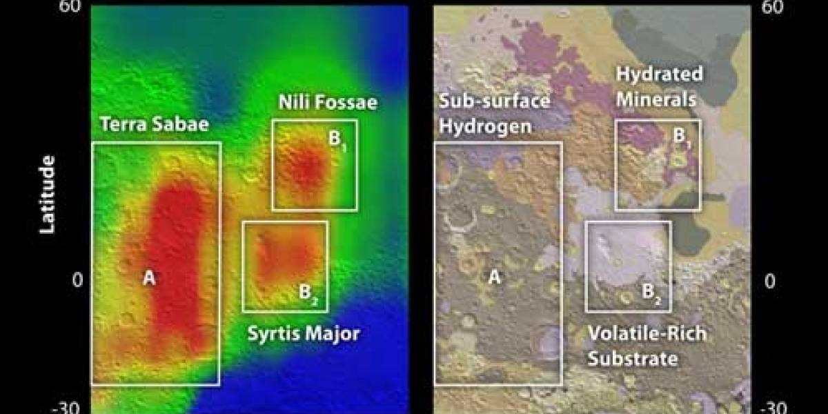 Variación en concentración de Metano en Marte confirmaría actividad volcánica