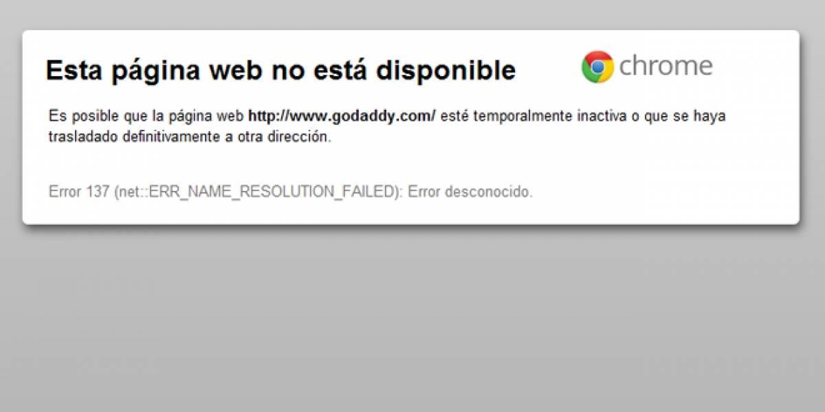Un único integrante de Anonymous ataca exitosamente GoDaddy.com