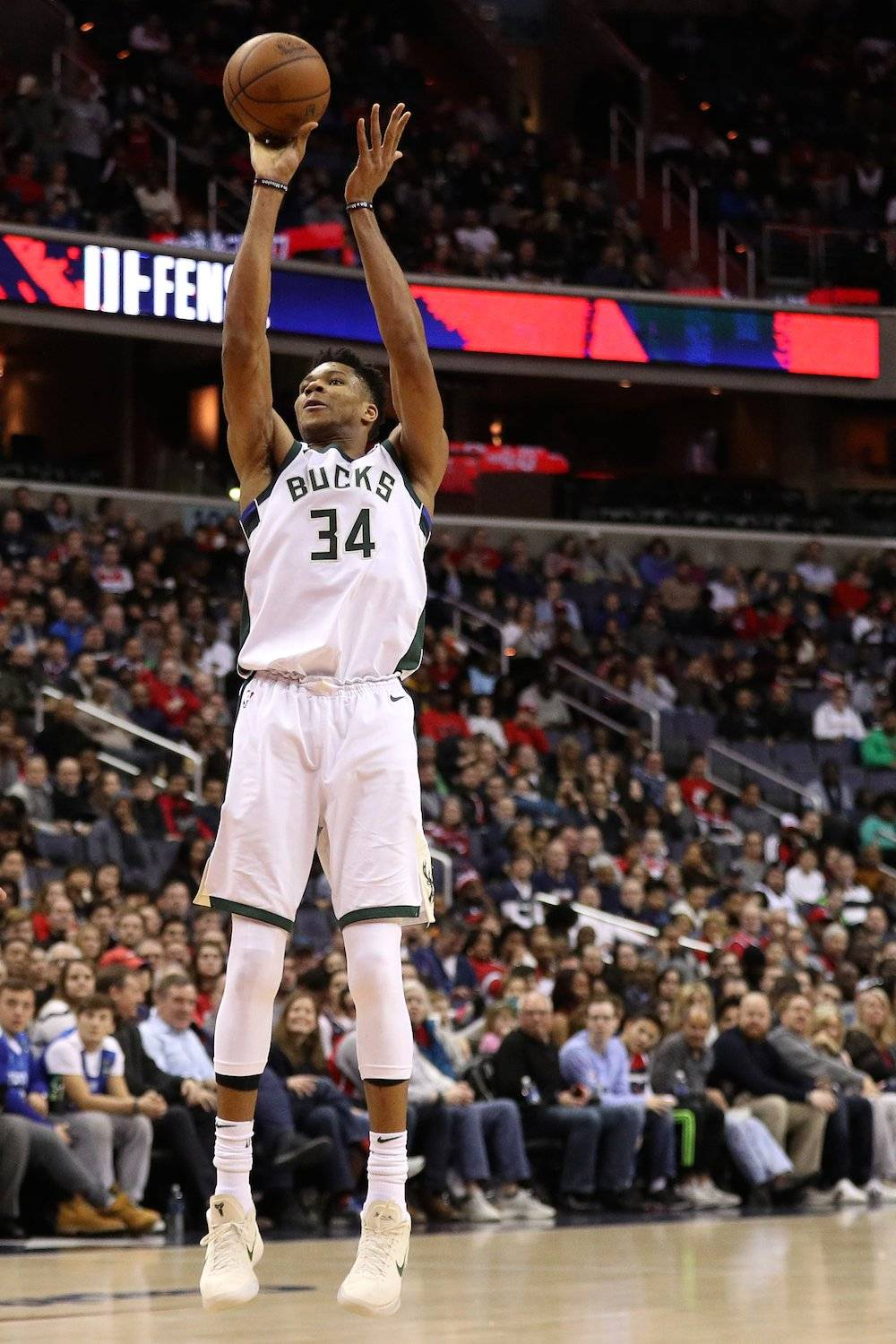Giannis Antetokounmpo / Getty Images