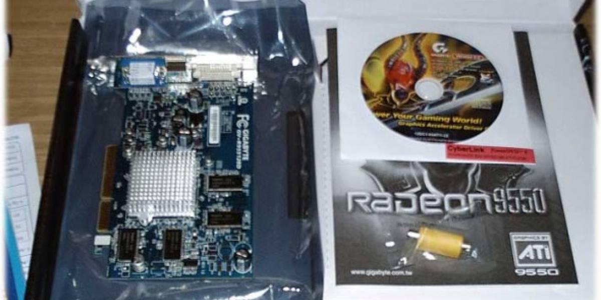 Cómo flashear Radeon 9550D 128 a XT