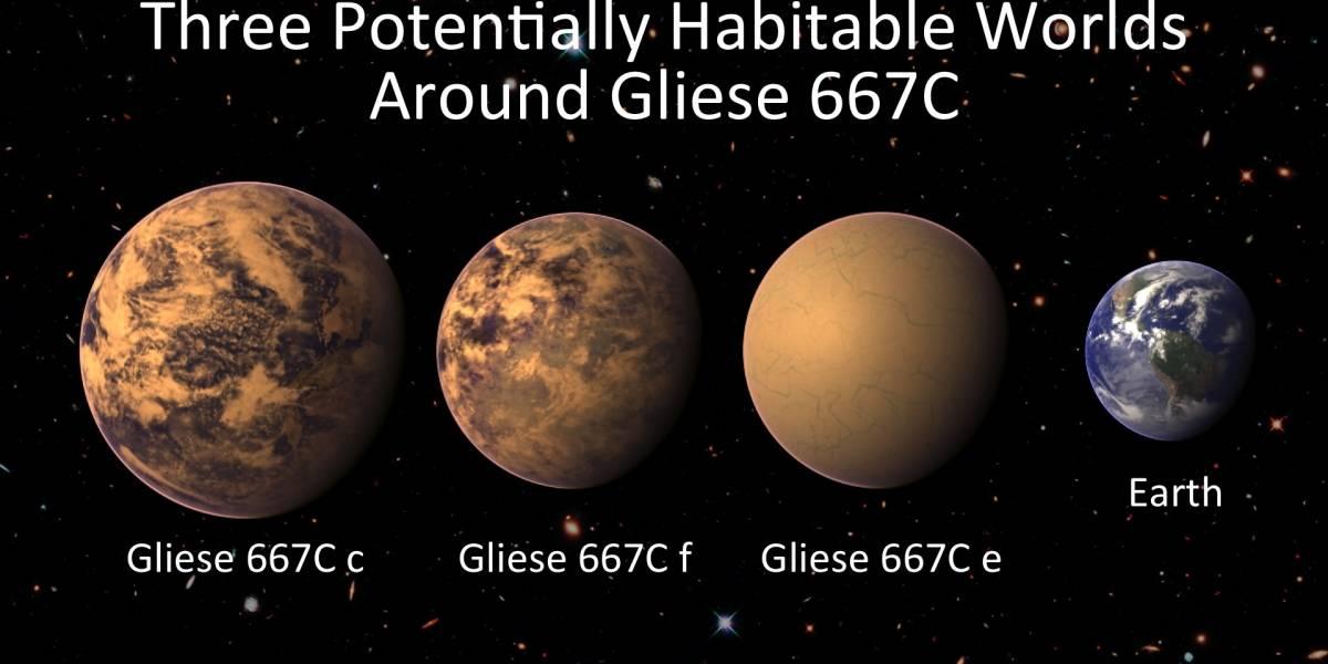 Encuentran tres nuevos planetas potencialmente habitables a 22 años luz