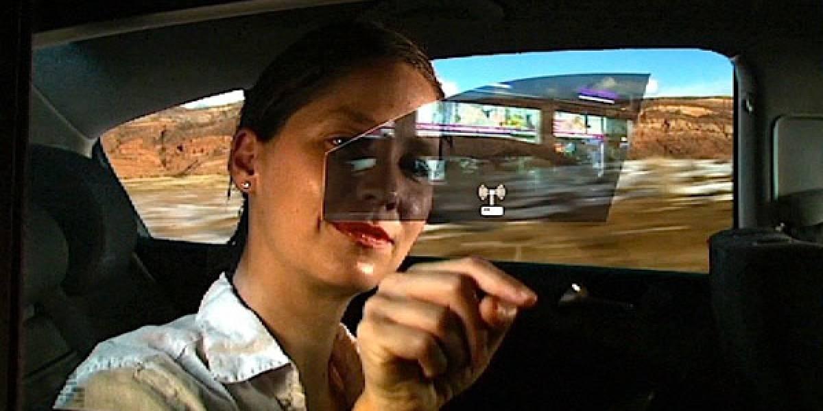 General Motors muestra su prototipo de ventana interactiva para automóviles