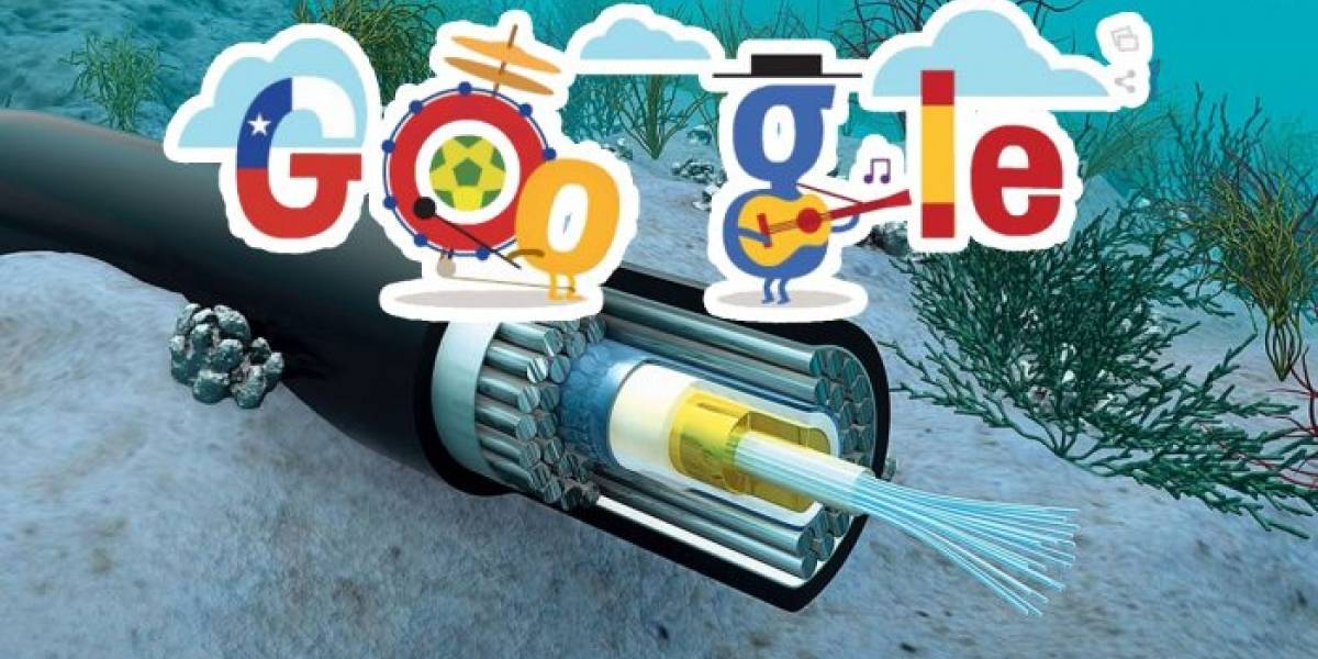 Google tenderá un cable submarino privado entre Chile y California