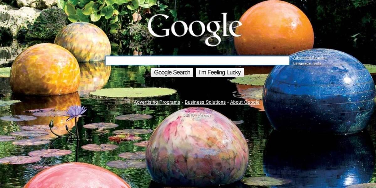 Ya se puede cambiar la imagen de fondo de Google (Actualizado)
