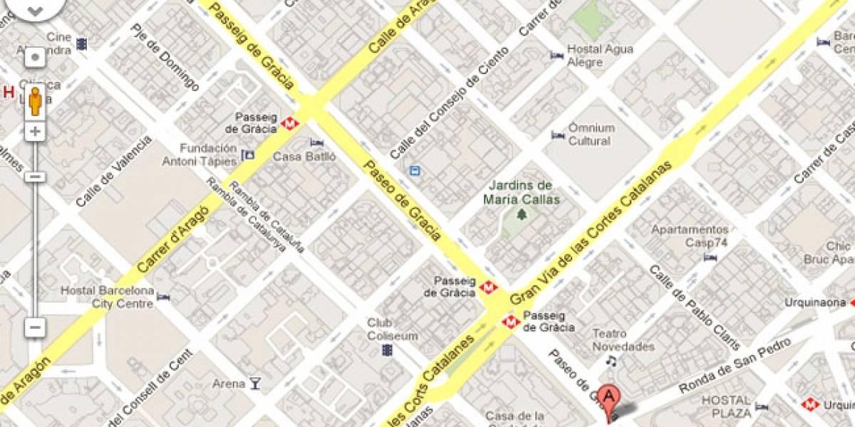 Barcelona reclama a Google Maps que use los nombres de las calles en catalán