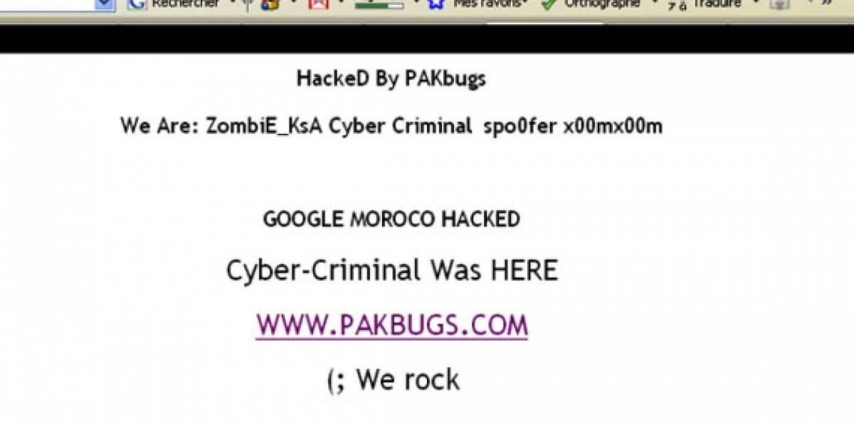 Hackers toman el control del dominio de Google en Marruecos