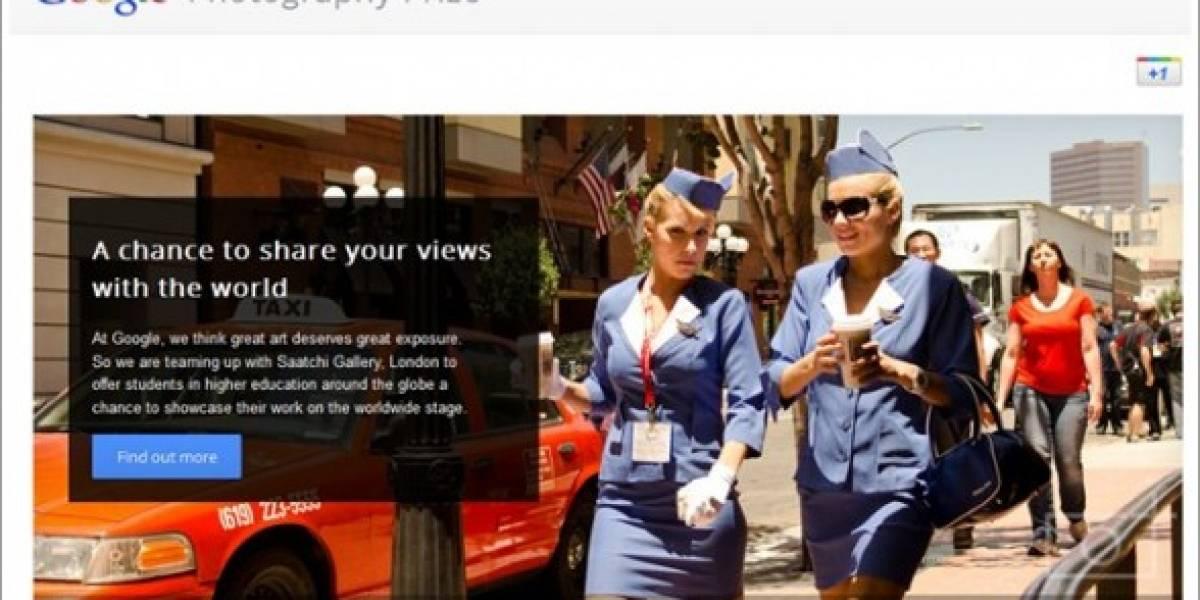 Google Photography Prize quiere que expongas en la galería Saatchi