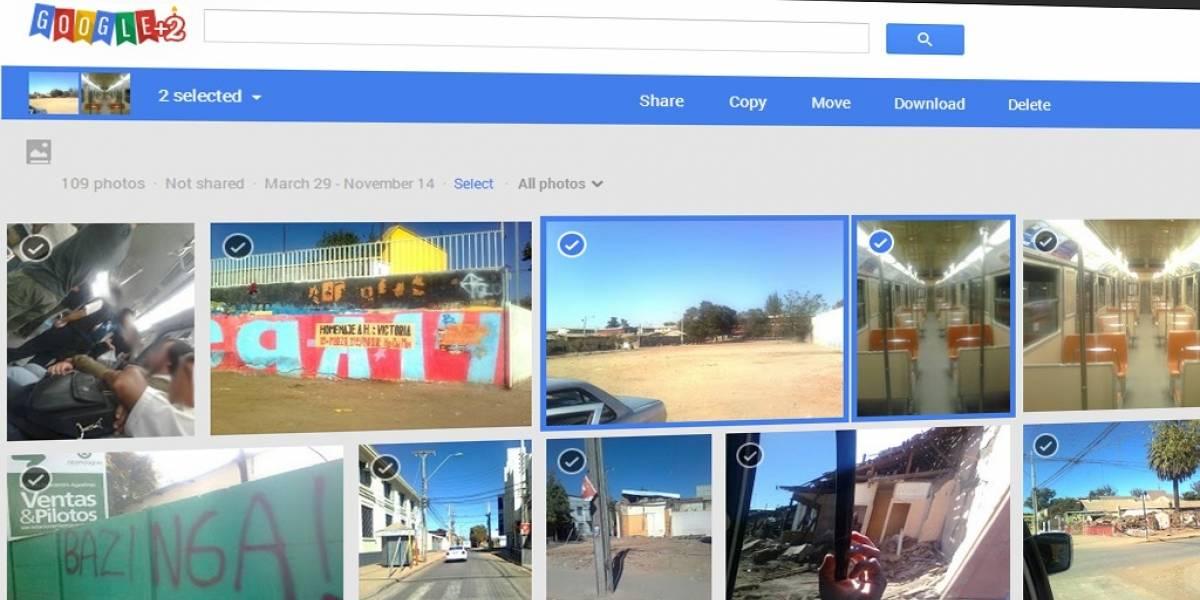 Google+ estrena nuevas mejoras para sus fotos a dos años de su debut