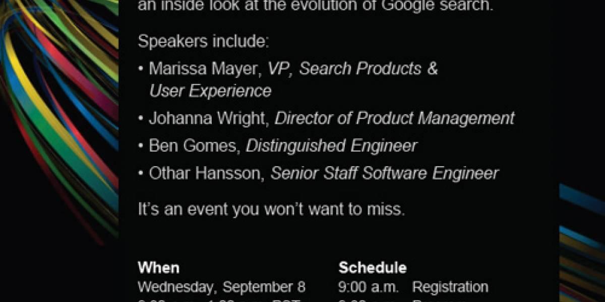 Mañana Google realizará un evento relacionado con las búsquedas