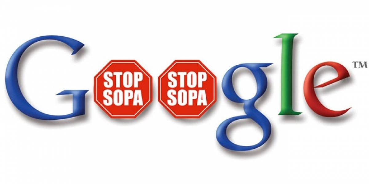 Google también utilizará su página de inicio para protestar contra Ley SOPA