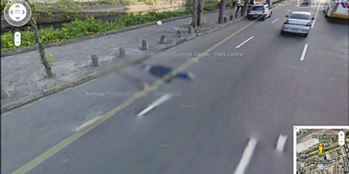 Google Street View debuta en Brasil captando personas muertas en la calle