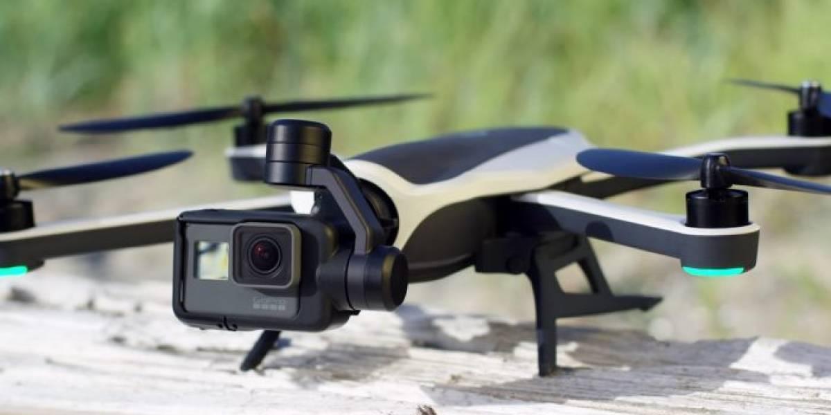 GoPro en crisis financiera cierra su negocio de drones