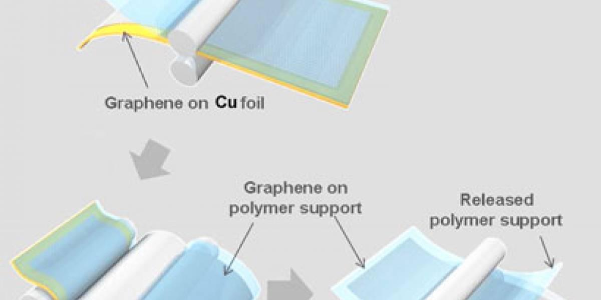 Investigadores desarrollan la primera pantalla táctil de grafeno