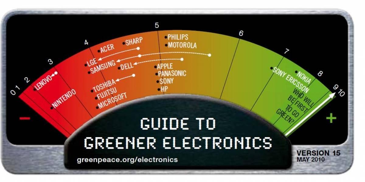 Por tercer año, Nokia es la empresa más verde según Greenpeace