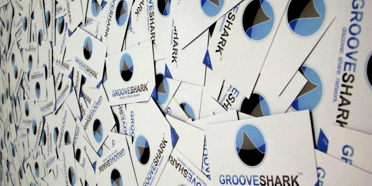 Grooveshark fue agregado a la lista de piratas de Google