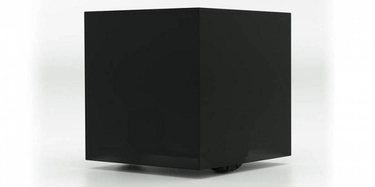 Este cubo negro con ruedas buscará el calor por la casa para traértelo a ti