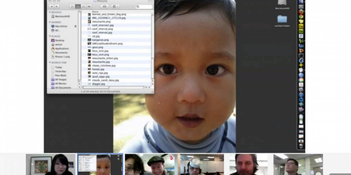 Google+ mejora sus Hangouts con una pantalla más grande