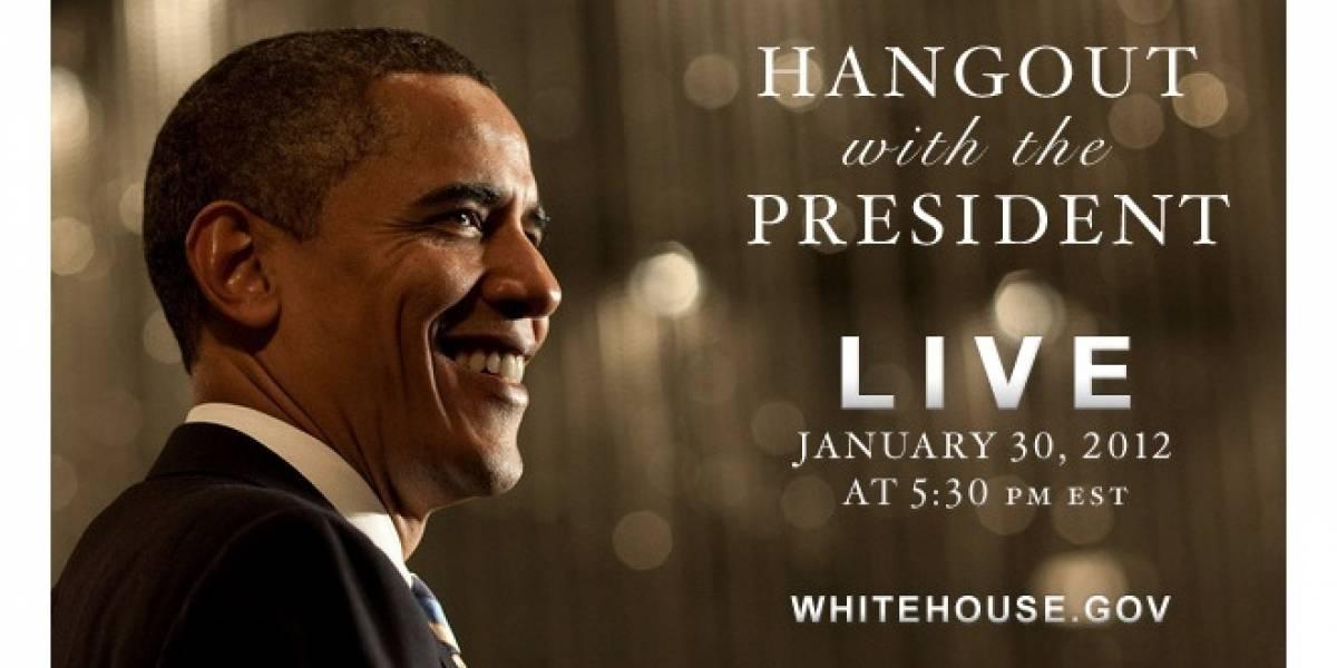 Obama protagonizará hoy la primera quedada de un presidente en Google+
